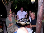 we do like the food, the wine and the raki at Imeros, Popy`s place in Lagolio!
