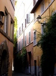 Small alley in Trastevere