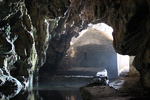 Inside the Agios Antonios cave