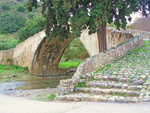 Venetian bridge on the road to Kato Preveli