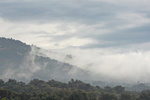 Lagolio in the clouds after the first autumn storm